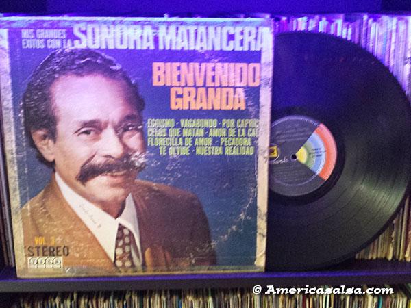 Bienvenido Granda El Bigote Que Canta America Salsa